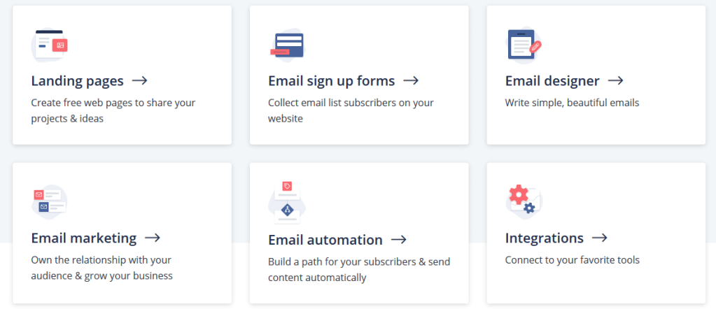 Features of ConvertKit