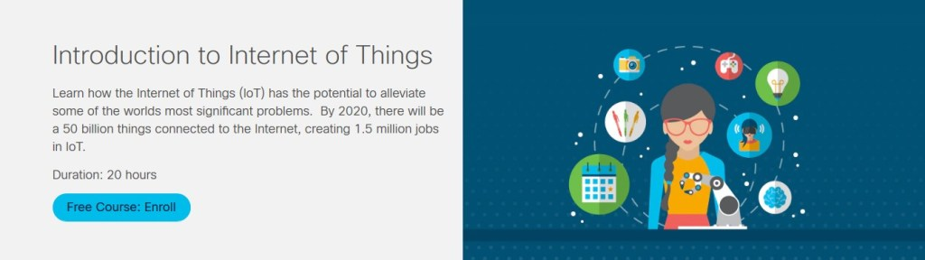 Introduction to IoT Course by Cisco