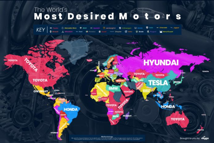 The world's most desired motors