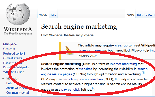 What is SEM? Depends on Who You Ask - Search Engine Watch ...