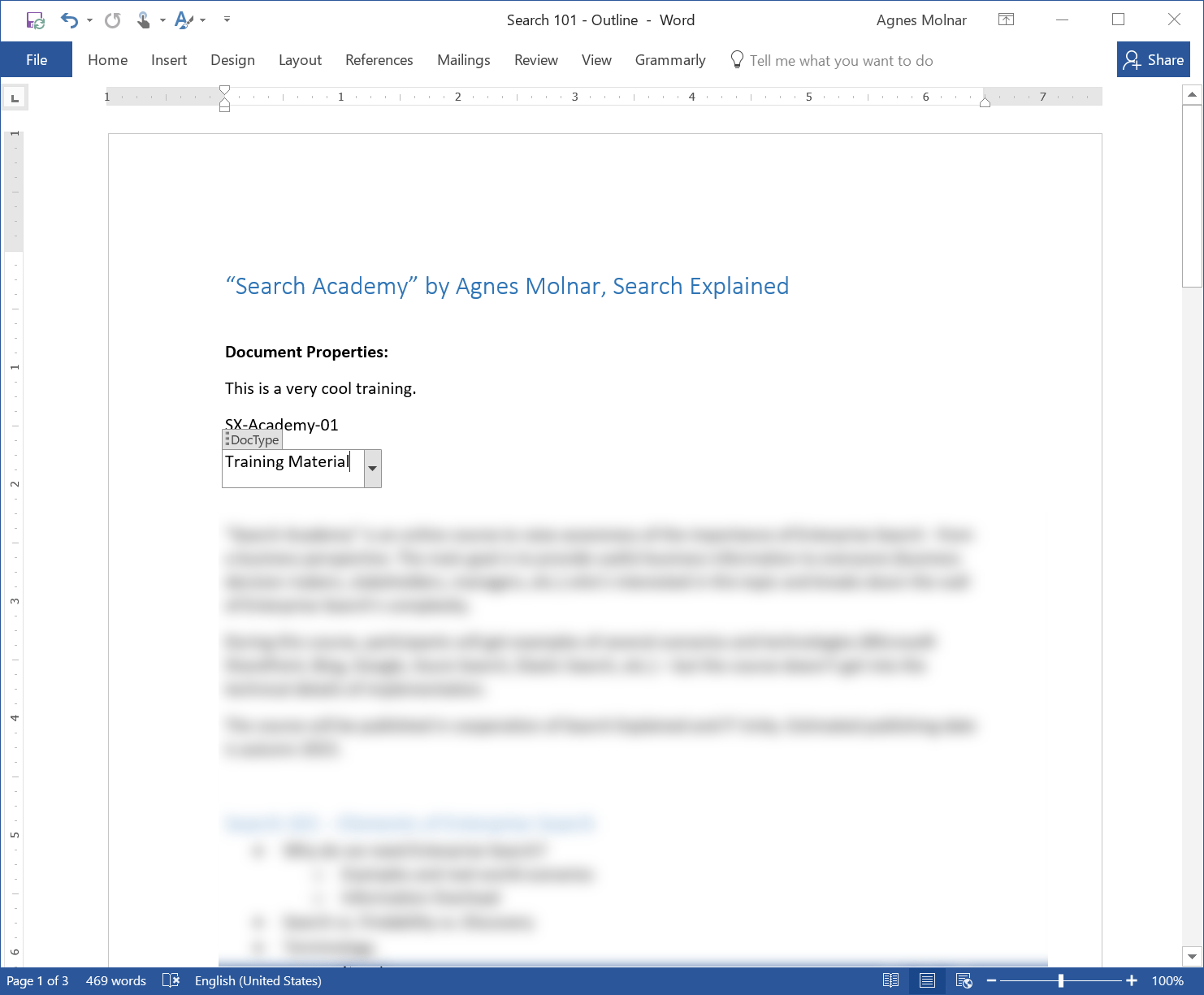 Document Information Panel Is Gone In Office 2016 What To Use