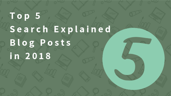 The five most popular blog posts in 2018