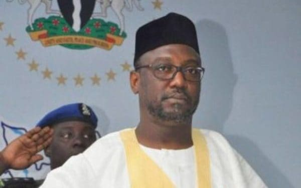 GOVERNOR SANI BELLO FELICITATES  WITH MUSLIMS ON  EID-IL-FITR