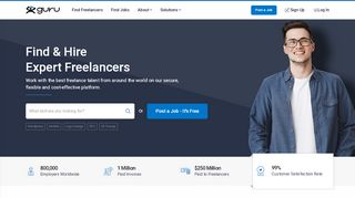 Guru | Hire Freelancers Online and Find Freelance Jobs Online