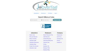 Jobvertise | Post and Search Jobs and Resumes FREE