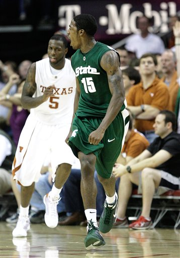 Summers three propelled Mich. St. to a win in Houston