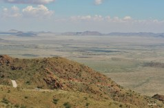 Southern part of the Namib desert taken from the top of the Spreetshoogte Pass