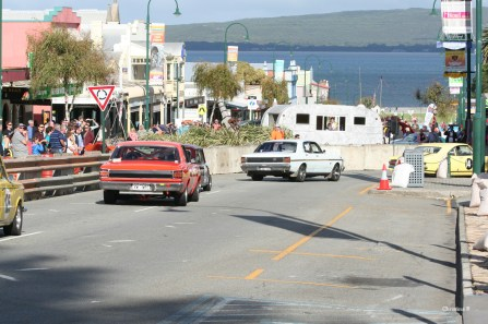 Albany, Western Australia, with vintage car races held annually in June