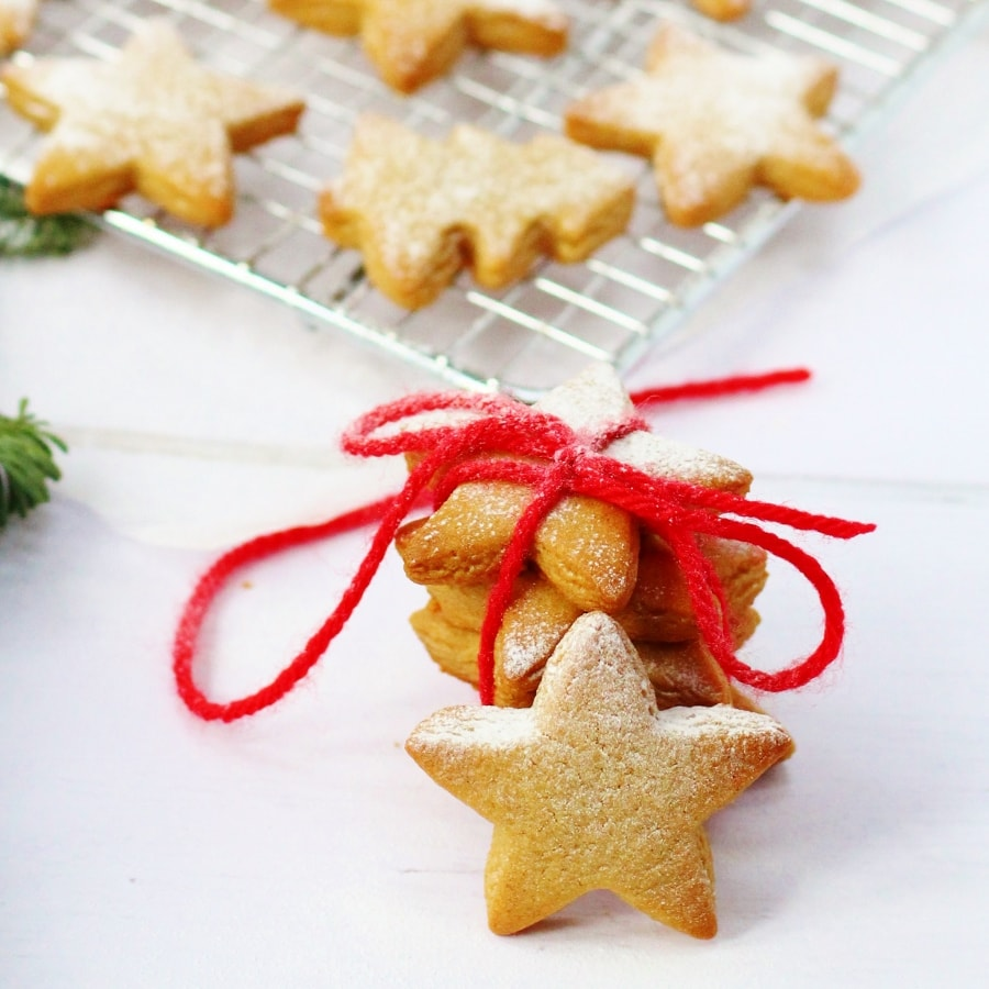 Soft Chewy Gingerbread Biscuits Searching For Spice