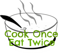Cook Once Eat Twice badge