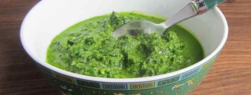 Green herb sauce
