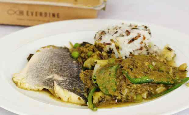 Everdine Review - Sea Bream Thai Green Curry