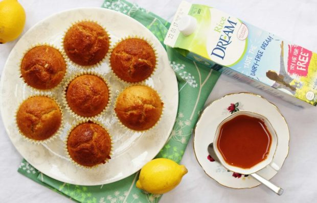 Dairy Free Lemon Muffins with Rice Dream