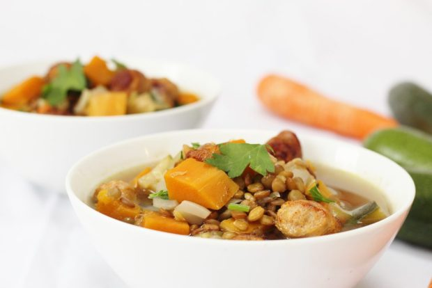 lentil-sausage-vegetable-soup-2