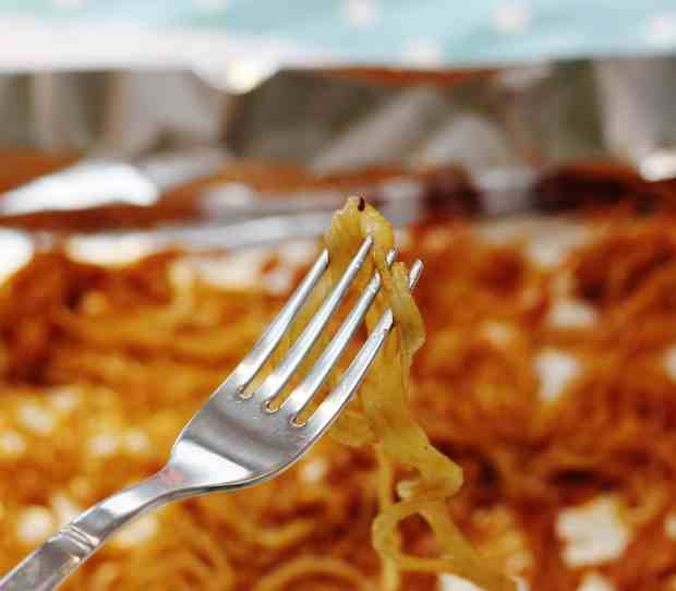 Marmite and Cheese Potato Strings from Spiralize Every Day