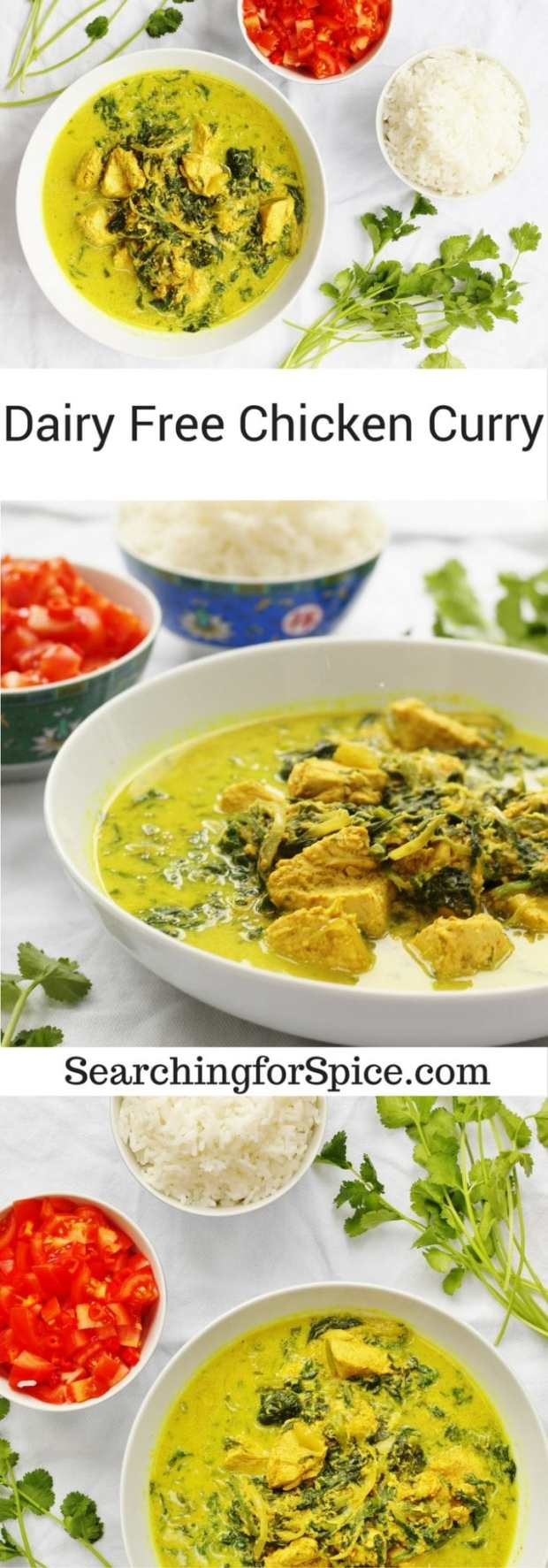 Dairy Free Chicken Curry from Simply Dairy Free book review