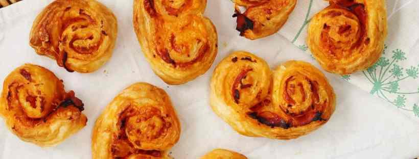 Cheesy chorizo pastries