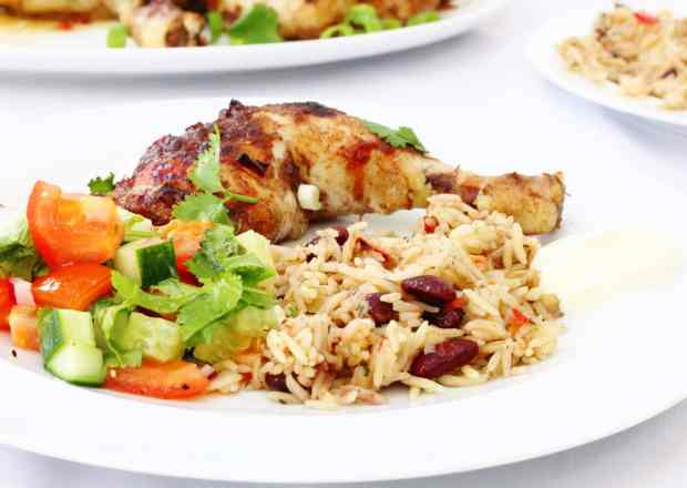 Easy jerk chicken perfect for kids too
