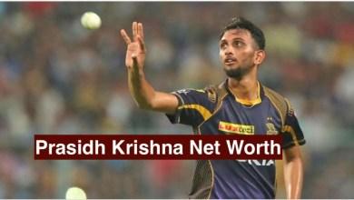 Prasidh Krishna Net Worth