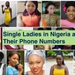 Single Ladies in Nigeria and Their Phone Numbers in 2021