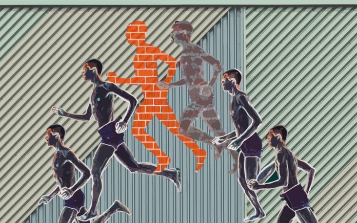 Runner's wall