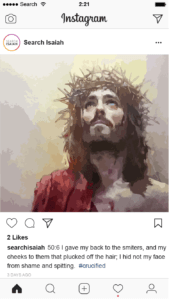 He died for us