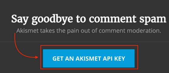 AkismetのAPIキー取得方法と設定方法