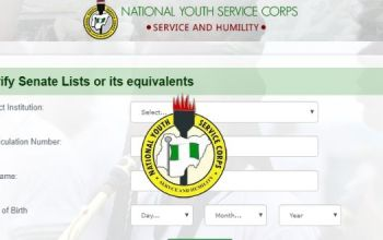 How To Check NYSC Batch A Senate Approved List 2020