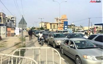 Gridlock At lekki-ikoyi Bridge Lagos