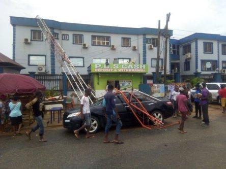 Early Morning Rain Wreaks Havoc in Lagos Community 2