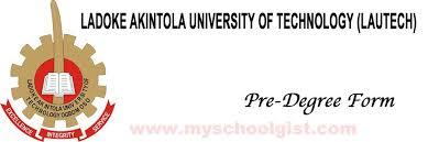 Ladoke Akintola University of Technology (LAUTECH) Admission List For 2019/2020 1