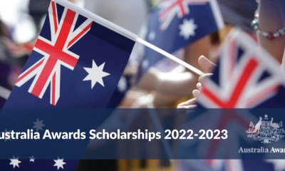 Australia Awards Scholarships 2022-2023 (See Application Guidelines)