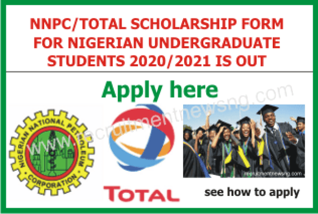 NNPC AND TOTAL LOGO FOR SCHOLARSHIP