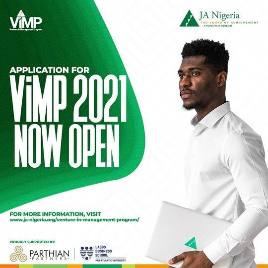 Apply For: Junior Achievement Nigeria Venture in Management Program (ViMP) 2021. 2