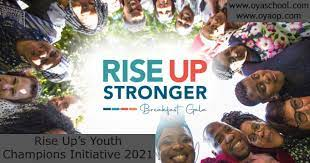 Apply For: Rise Up Youth Champions Initiative 2021 grants 1