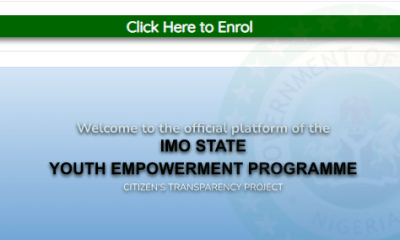 How to apply for IMSG youth empowerment application form 2021