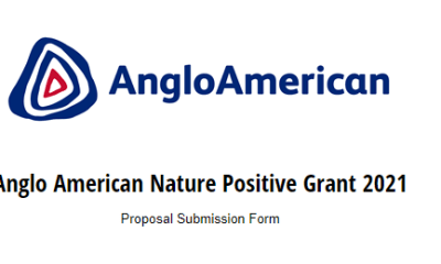 Anglo American Nature Positive Grant 2021 - $500 000 to be Disbursed to Beneficiaries (How to Apply)