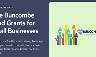 COVID-19 Grants: One Buncombe Fund Grants for Small Businesses 2021