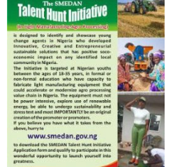 How to Apply for Smedan Talent Hunt Program 2021