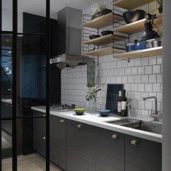 Kitchen Sink Grates Moen Faucet Models 你適合一字型 L 型還是中島 5 大規畫提案打造完美廚房動線 樂屋網 一字型直接掌握清洗 食材處理與烹飪動線尤佳