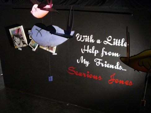 'With A Little Help from My Friends' Exhibition, Melbourne