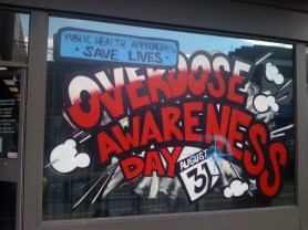 SEAR Overdose Awareness Day Fitzroy Legal Service 2012