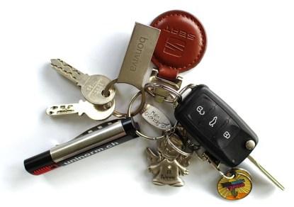 heavy car keys