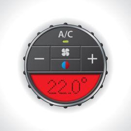 Air conditioning repair in Victoria BC - air conditioner dial