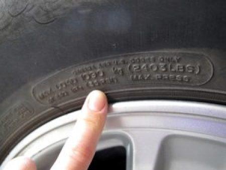 tire pressure psi