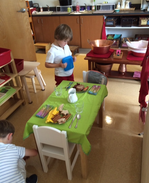 Emmett Fixing Lunch