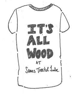 The creative process: making t-shirts
