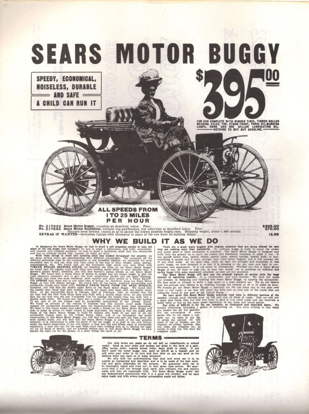 medium resolution of this is an advertisement for a sears from the 1909 fall catalogue click on the picture to see the full size