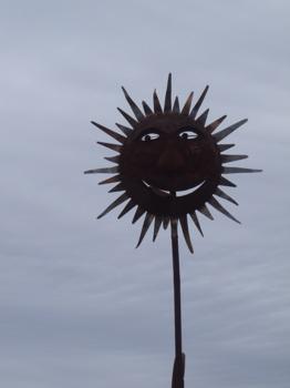 The sun always shines in Brooks