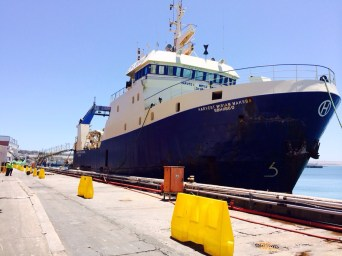 Re-power of Sea Harvest trawler vessel M/V Mariam Makeba